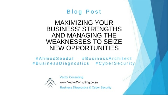 Maximizing Your Business' Strengths and Managing the Weaknesses to Seize New Opportunities